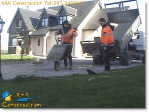 Driveway Replacement Cork with K&K Construction Tel:087-2450967